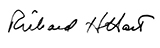 Richard Hart Signature