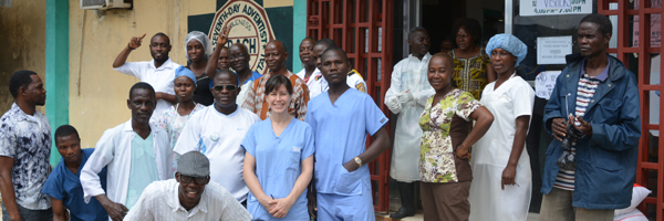 Dr. Gillian Seton continues to work at Cooper Hospital in Liberia as Ebola spreads throughout West Africa.