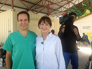 Five years later... Interview with Dr. nancy Snyderman medical correspondent for NBC.
